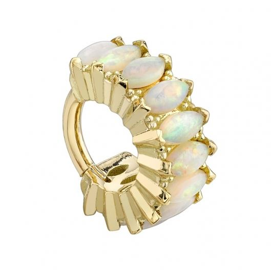bvla marquise cirrus hinge ring w white opal